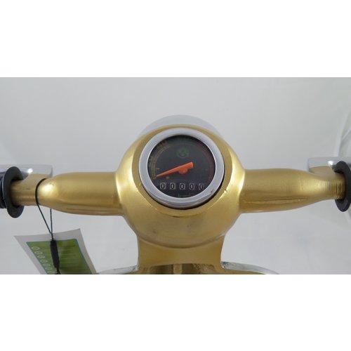 Vespa Vespa gold Metall-Roller Tischlampe