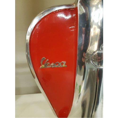Vespa Vespa rot Metall-Roller Tischlampe