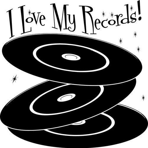 Langspielplatten-Uhren von Yesterday's Vinyl