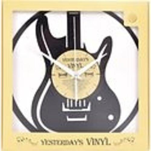Vinyl Vinyl wandklok gitaar