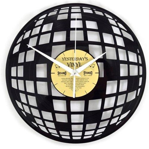 Vinyl Vinyl wandklok Discobal