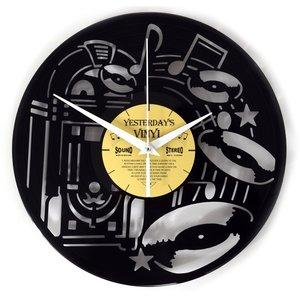 Vinyl Jukebox-Wanduhr
