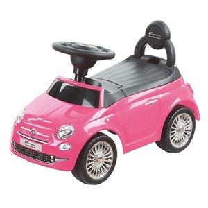 Fiat Loopauto Fiat 500 roze
