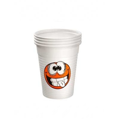 Drinkcups plastic Smile 180 ml