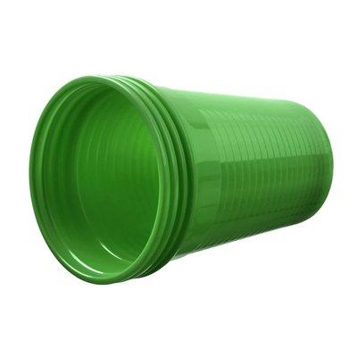 Drinkcups plastic groen 180 ml