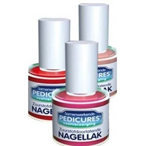 Samenwerkende Pedicures SP Nagellak Zuurstofdoorlatend div. kleuren