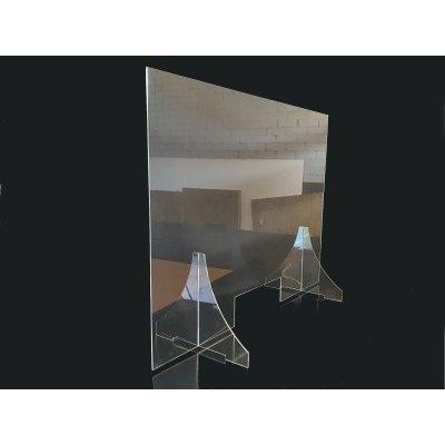 Stabiel veiligheidsscherm van plexiglas div. afmetingen