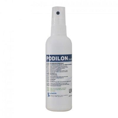Reymerink Podilon alcoholspray 80% pocketformaat special edition (corona) 100ml