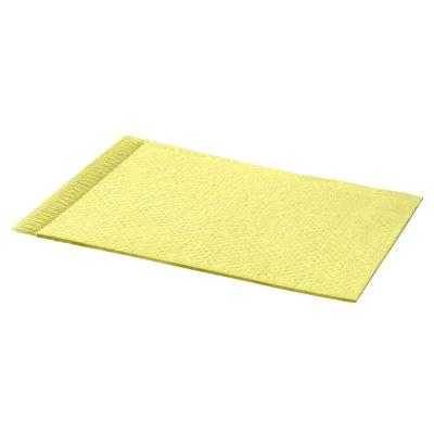 Hoofdsteunzakken geel, 25 x 33 cm