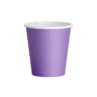 Drinkcups karton lila