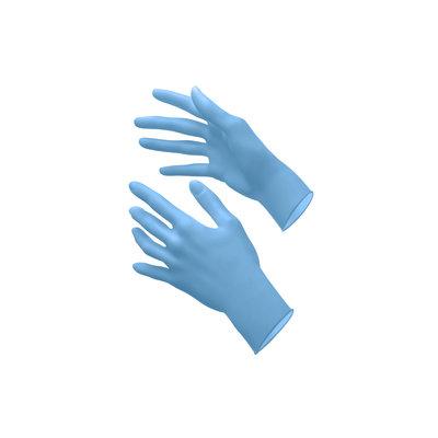Akzenta Toptouch Ultrasoft nitril Ice Blue