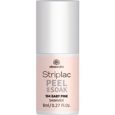 Alessandro Striplac 104 Baby Pink, met shimmer