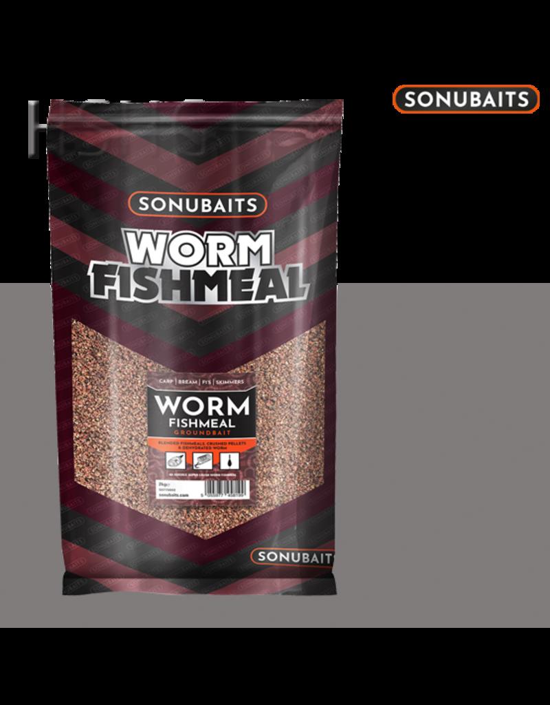 Sonubaits Sonubaits Worm Fishmeal Groundbait 2kg
