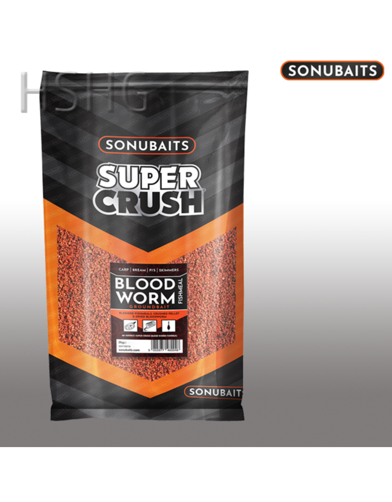 Sonubaits Sonubaits  Blood Worm Fishmeal 2kg perfect voor alle soorten vis.