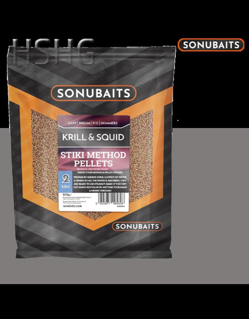 Sonubaits Sonubaits Krill & Squid Stiki Method Pellets 2mm