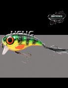 Spro Spro Fat Iris 8cm 40gram Chrome Perch