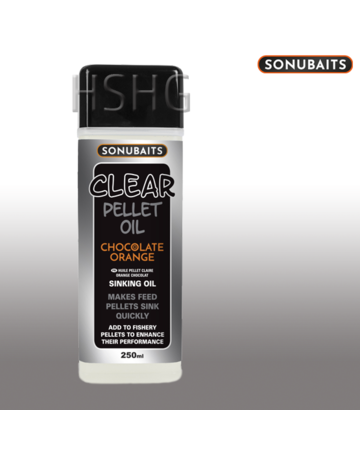 Sonubaits Sonubaits Clear Pellet Oil Chocolate Orange