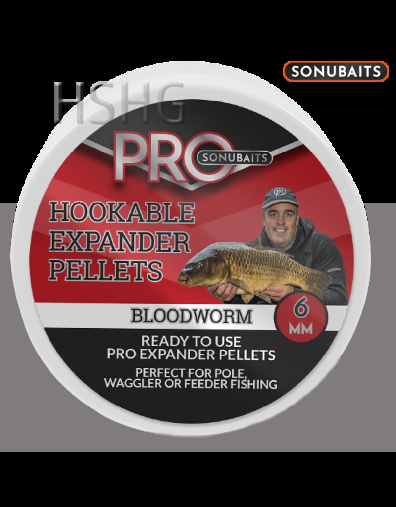 Sonubaits Sonubaits Pro Hookable Expander Pellets Bloodworm