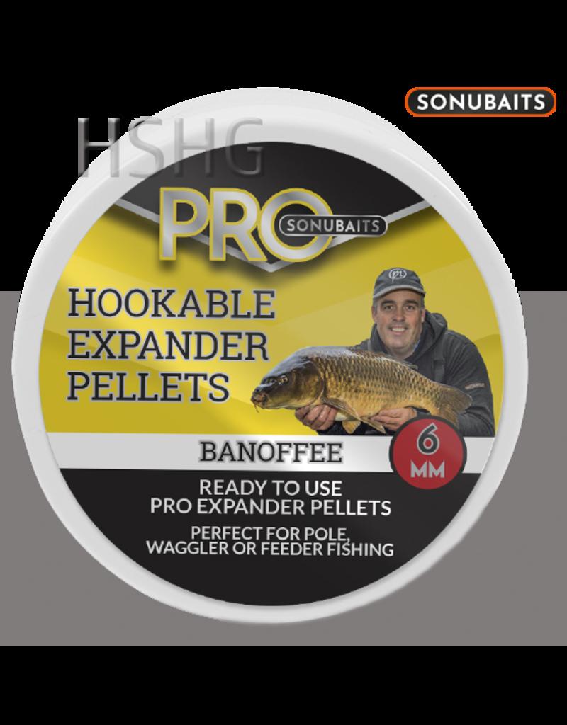 Sonubaits Sonubaits Pro Hookable Expander Pellets Banoffee
