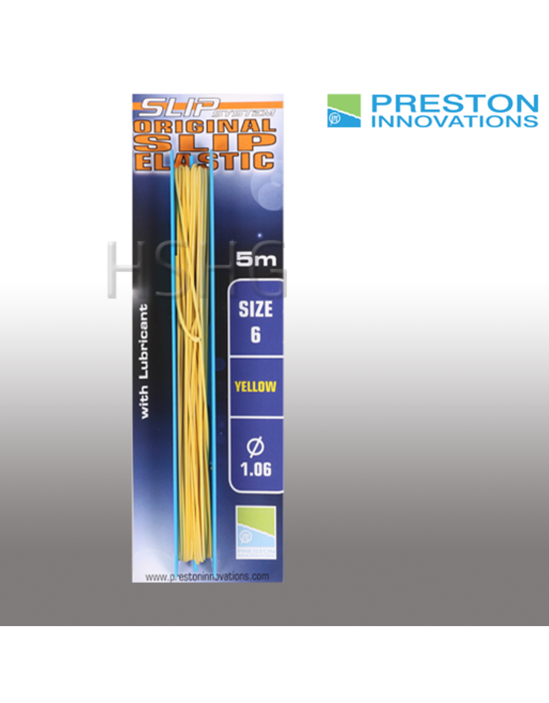 Preston innovations Preston Original Slip Elastic Yellow