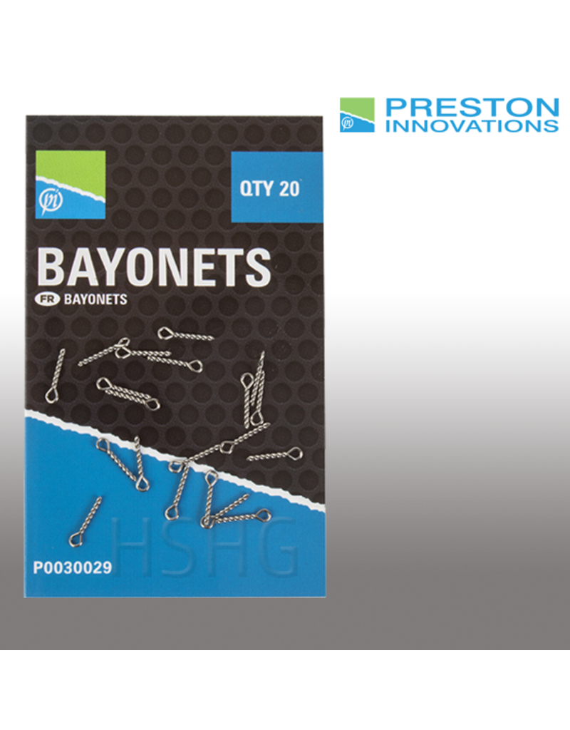 Preston Preston Bait Bayonets voor het snel wisselen van haakaas.