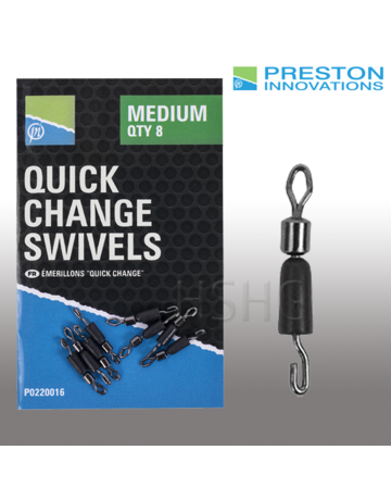 Preston innovations Preston Quick Change Swivels
