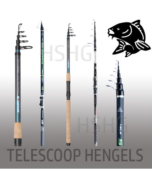 Telescoop hengels