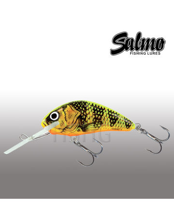 Salmo Salmo Hornet 4cm Floating Gold Fluo Perch