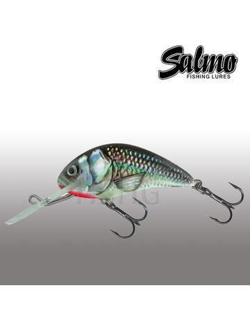 Salmo Salmo Hornet 4cm Floating Holographic Grey Shiner