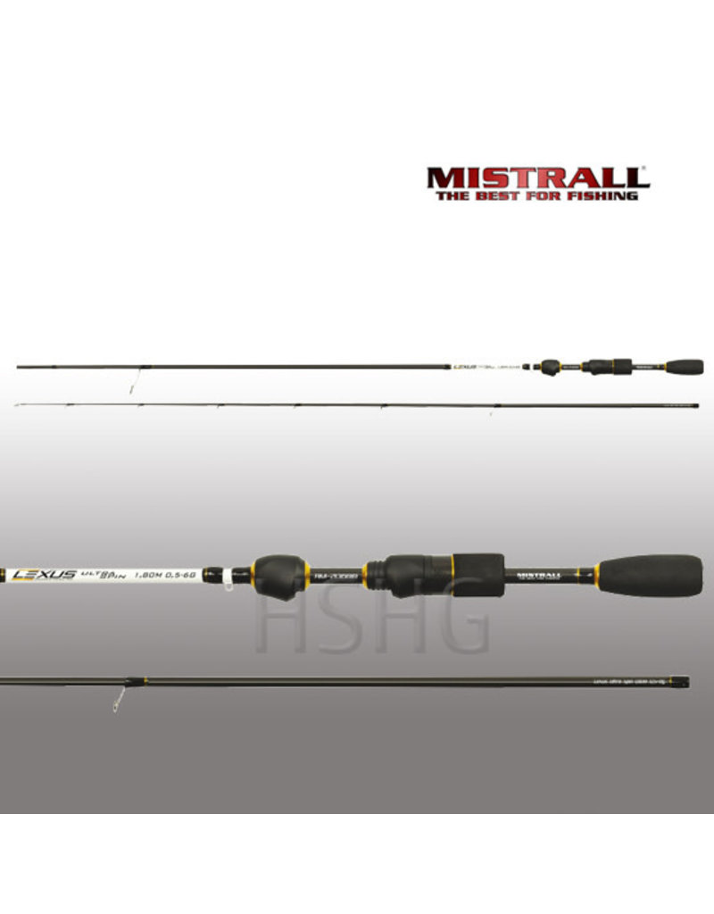 Mistrall Mistrall Lexus Ultra Spinhengel 1.95m 1-7gram