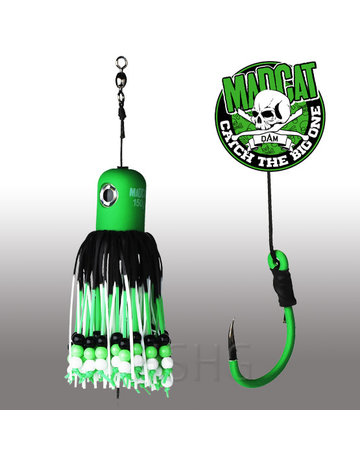 Madcat Madcat Adjustable Clonk Teaser 100gram Green