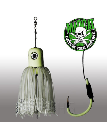 Madcat Madcat Adjustable Clonk Teaser 150gram  Glow in the Dark