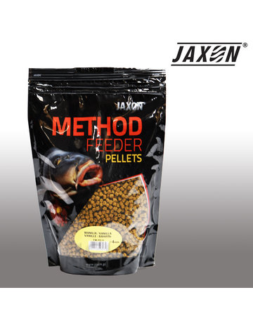 Jaxon Jaxon Method Feeder Pellets  Vanilla 4mm