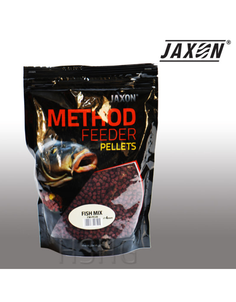 Jaxon Jaxon Method Feeder Pellets  Fish Mix 4mm