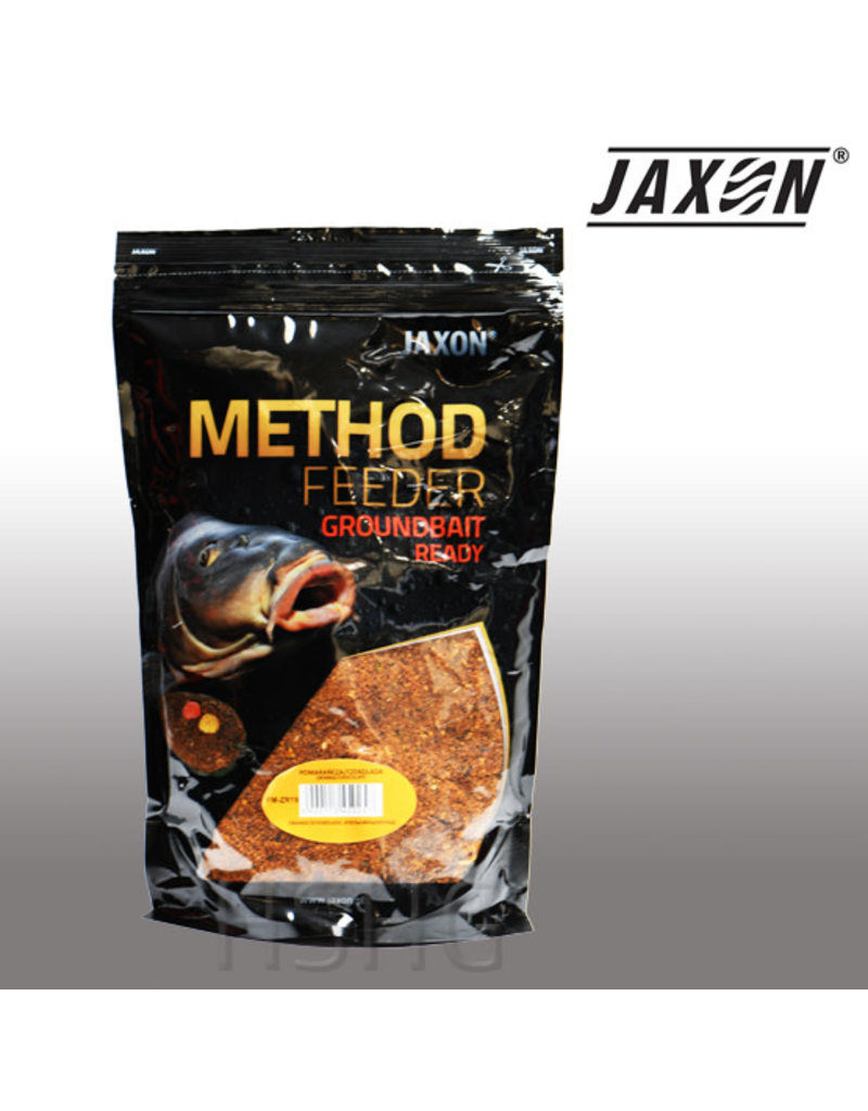 Jaxon Jaxon Method feeder Groundbait Ready Orange-Chocolate 750gram