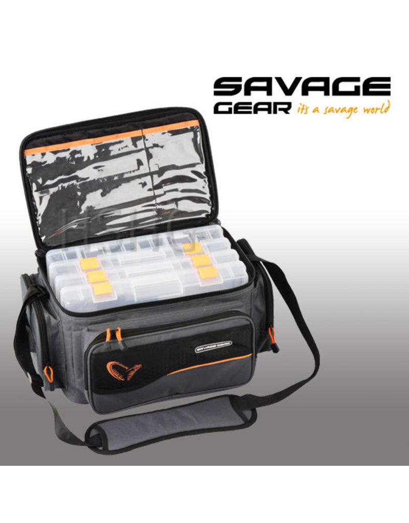 Savage Gear Savage Gear System Box  Bag L 4Boxen