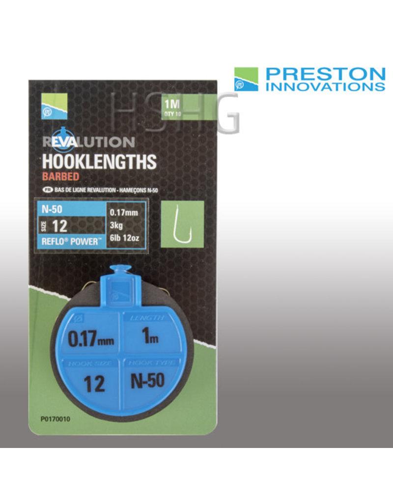 Preston innovations Preston N-50 Revalution Hooklengths Onderlijnen