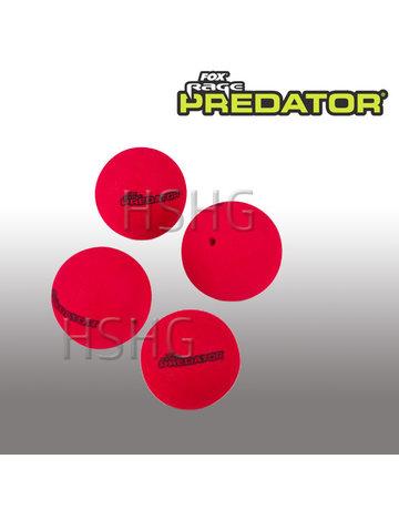Fox Rage Predator Fox Rage Predator Bait Poppers XL 4stuks