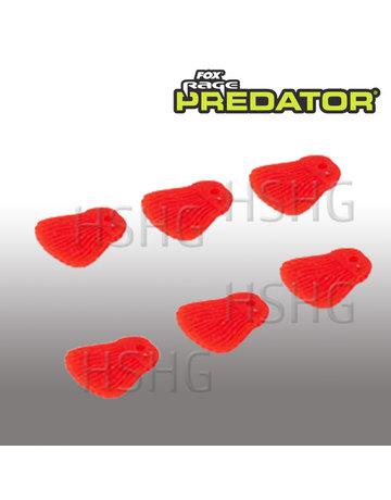 Fox Rage Predator Fox Rage Predator Bait Fins Red
