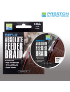Preston innovations Preston Absolute Feeder Braid Gevlochten Vislijn Bruin