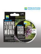 Preston innovations Preston Sinking Feeder Mono nylon vislijn groen