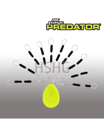 Fox Rage Predator Fox Rage Predator Float Stops Black