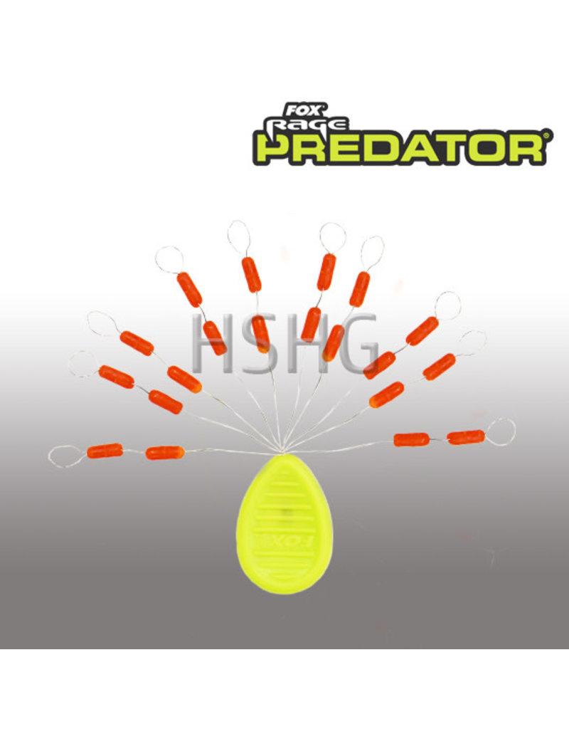 Fox Rage Predator Fox Rage Predator Float Stops Red