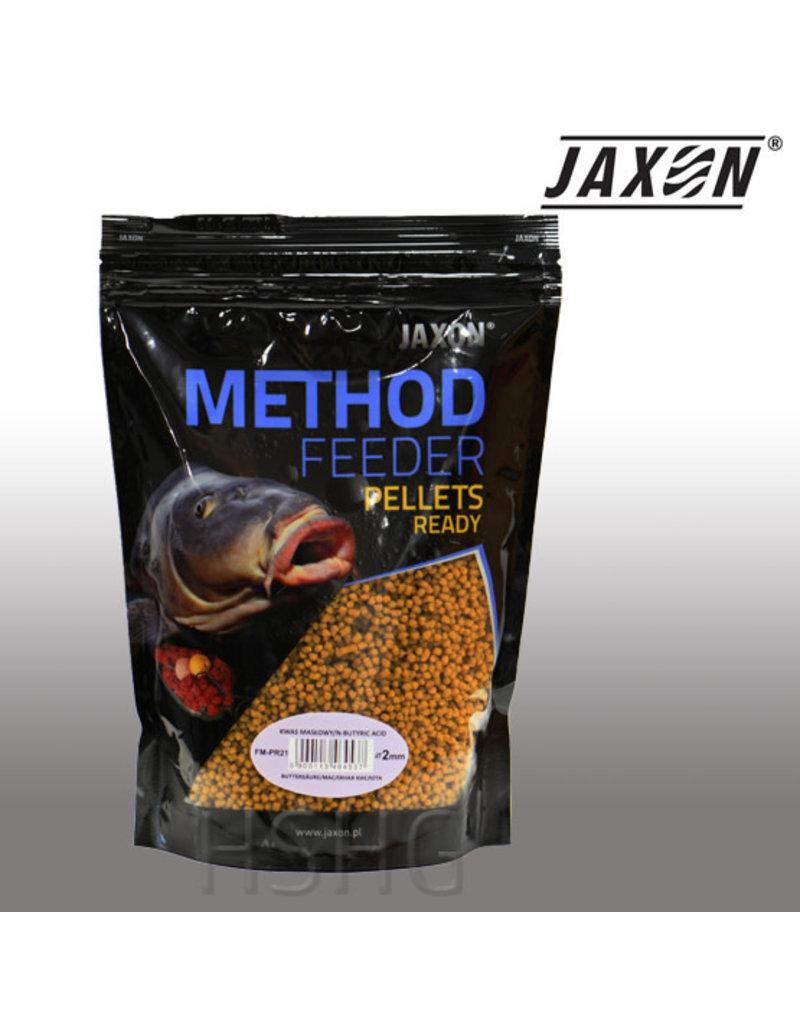 Jaxon Jaxon Method Feeder Pellets Ready Boterzuur 2mm