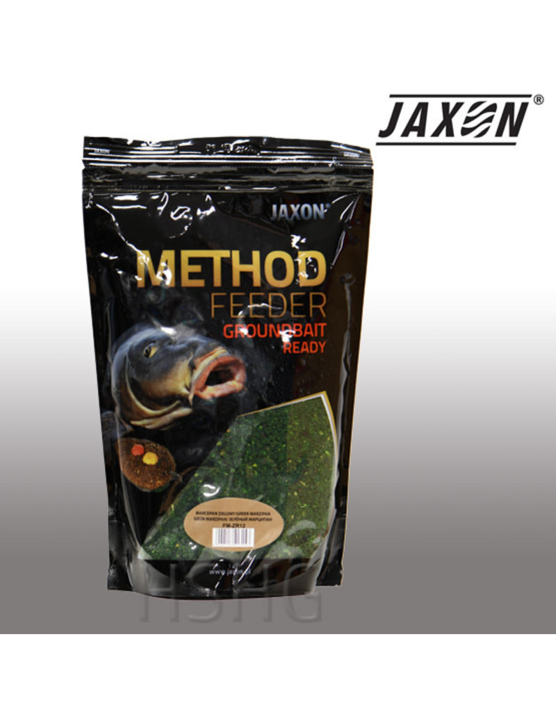 Jaxon Jaxon Method Feeder Groundbait Ready Green Marcepein 750gram