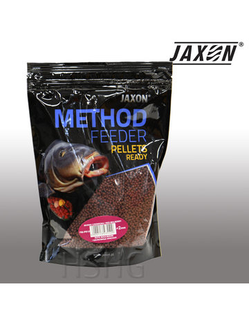 Jaxon Jaxon Method Feeder Pellets Ready Rode Moerbei 2mm