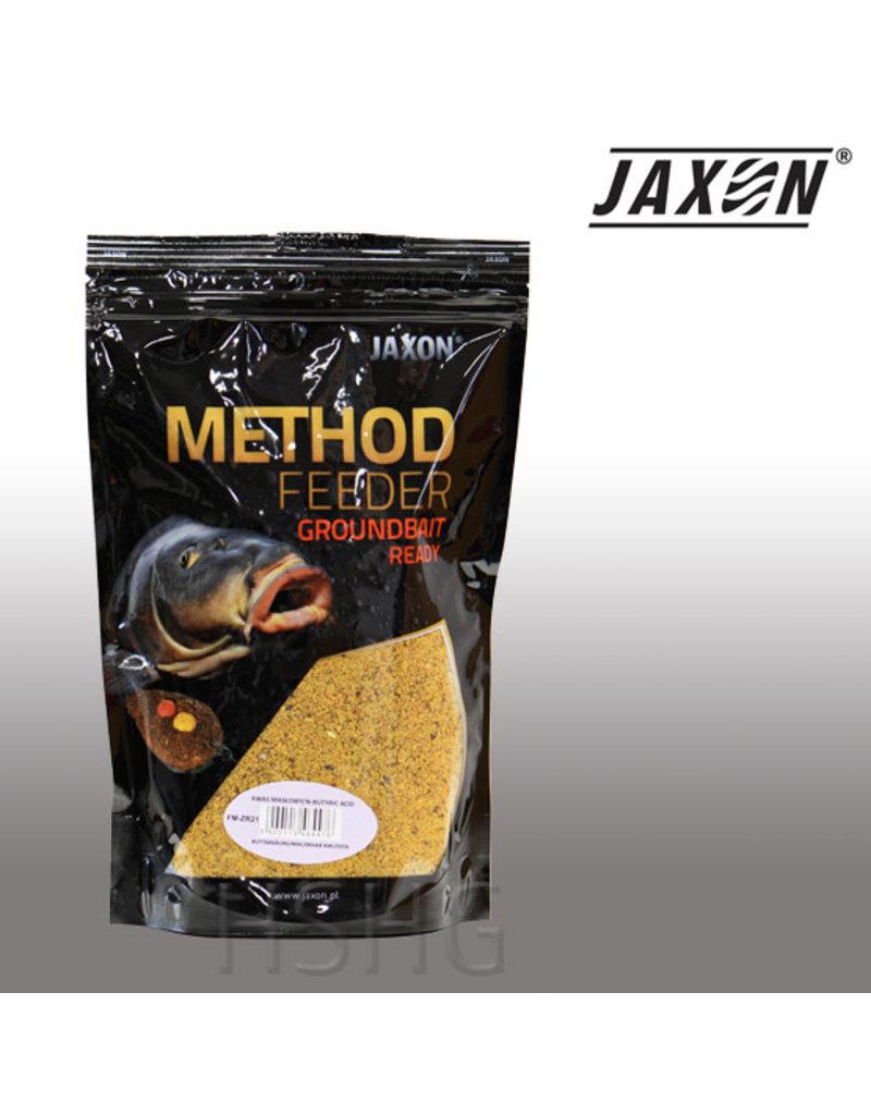Jaxon Jaxon Method Feeder Groundbait Ready Boterzuur 750gram