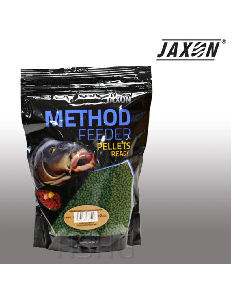 Jaxon Jaxon Method Feeder Pellets Ready Green Marcepein 2mm