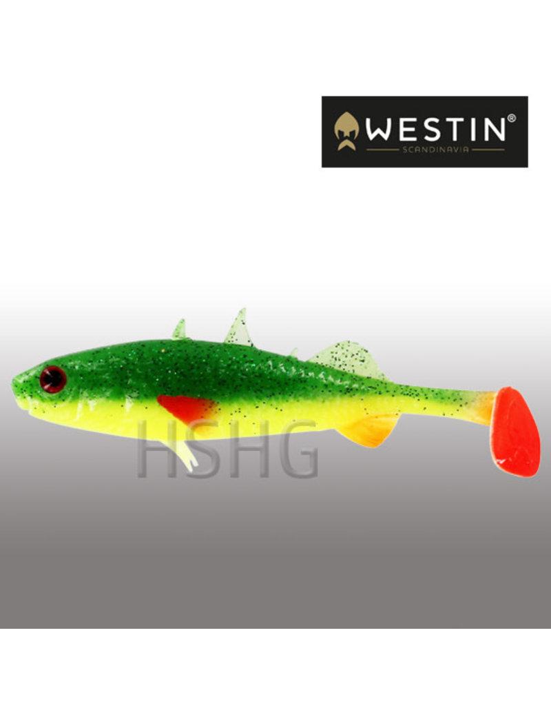 Westin Westin Stanley The Stickleback Shadtail FireFlake 5,5cm