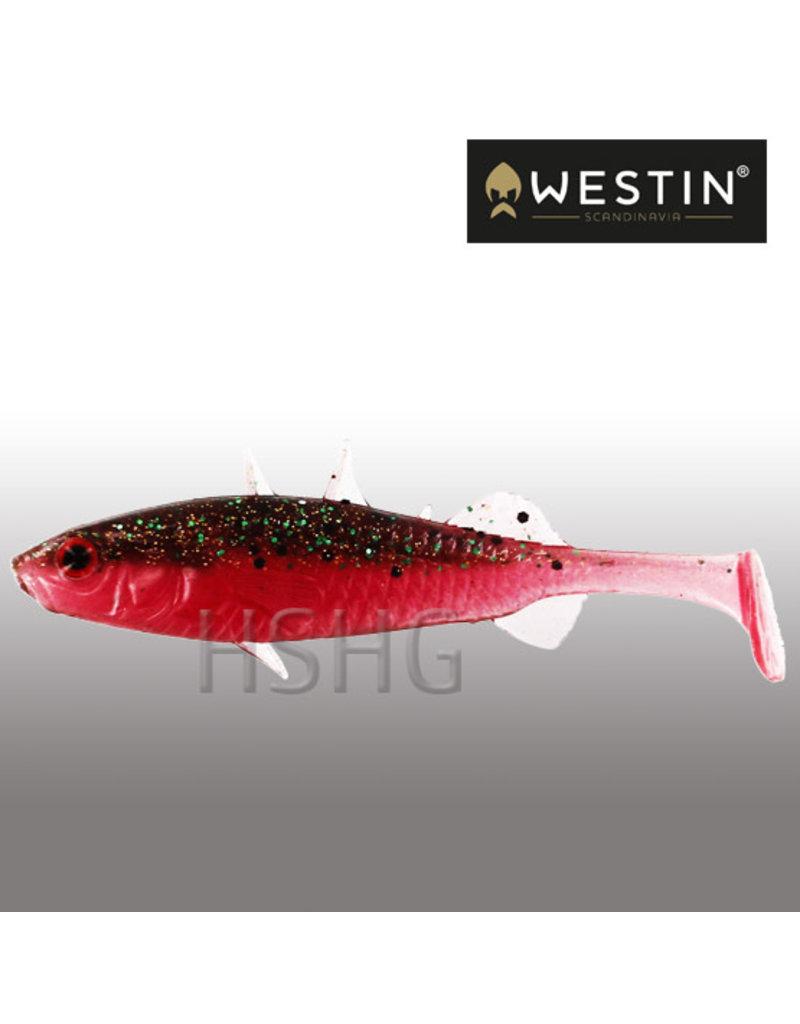 Westin Westin Stanley The Stickleback Shadtail Sangria 7.5cm